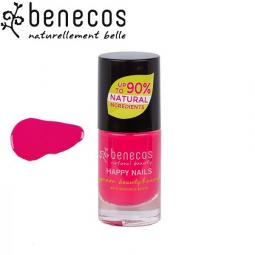 Vernis à Ongles Rose Groseille Vegan 5ml BENECOS