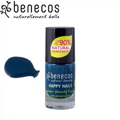 Vernis à Ongles Bleu Nordique Vegan 5ml BENECOS