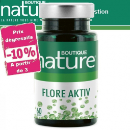Flore Aktiv 60 Gélules BOUTIQUE NATURE