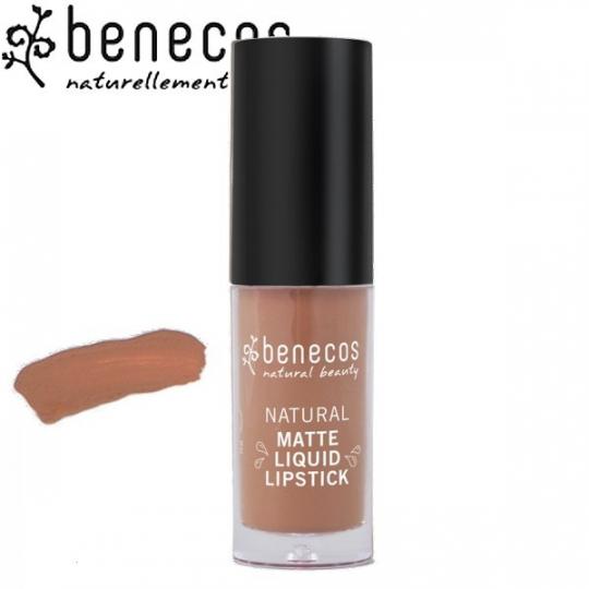 Rouge à Lèvres Liquide Mat Desert Rose Bio BENECOS