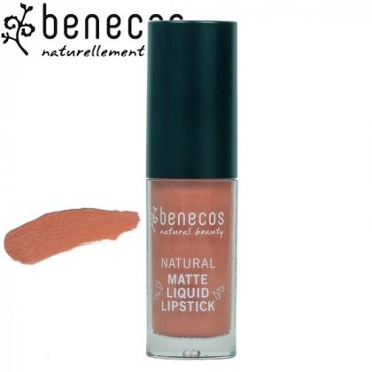 Rouge à Lèvres Liquide Mat Coral Kiss Bio BENECOS