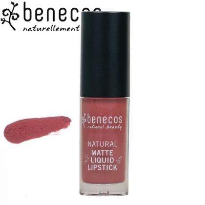 Rouge à Lèvres Liquide Mat Rosewood Romance Bio BENECOS