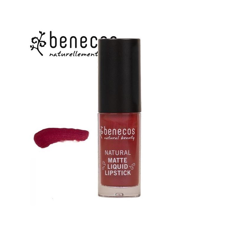 Rouge à Lèvres Liquide Mat Bloody Berry Bio BENECOS