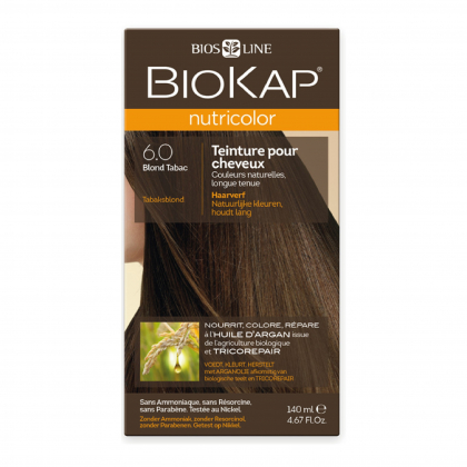 Coloration 6.0 Blond tabac Nutricolor - 140ml