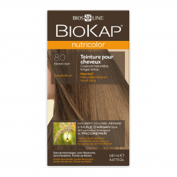 Coloration 8.0 Blond clair Nutricolor - 140ml