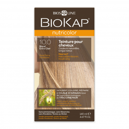 Coloration 10.0 Blond extra clair Nutricolor - 140ml