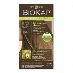 Coloration 8.03 Blond clair naturel Delicato+ - 140ml