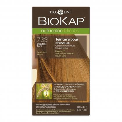 Coloration 7.33 Blond blé doré Delicato - 140ml