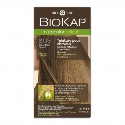 Coloration 8.03 Blond clair naturel Delicato - 140ml