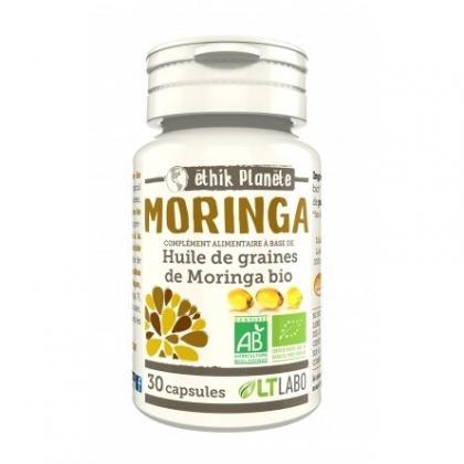 Huile de Graines de Moringa - 30 capsules