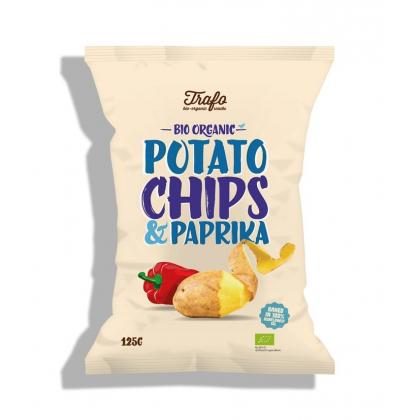 Chips Pommes De Terre Paprika 125g
