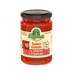 Sauce tomate au piment d'Espelette 250g - Lazzaretti