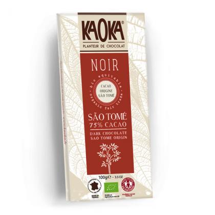 Chocolat Noir 75% Sao Tomé - 100g