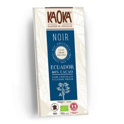 Chocolat Noir 80% Equateur - 100g
