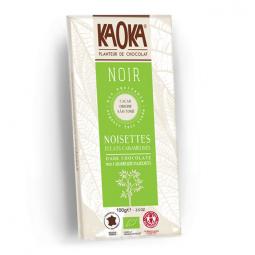 Chocolat Noir Noisettes 66% Sao Tomé - 100g