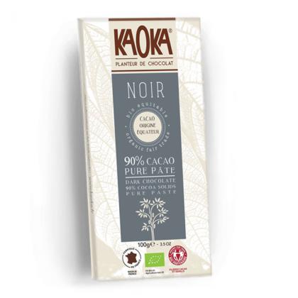 Chocolat Noir 90% Equateur - 100g