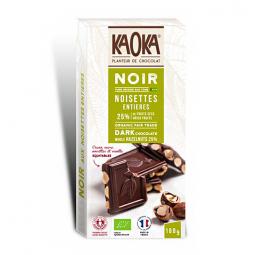 Chocolat Noir Noisettes 66% Sao Tomé - 180g