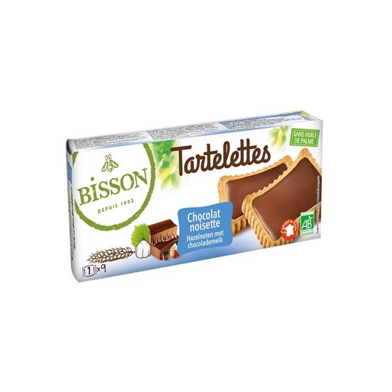 Tartelettes au chocolat & noisettes - 150g