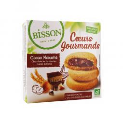 Cœurs gourmands cacao & noisettes - 180g