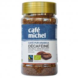 Café bio soluble décaféiné - Pur arabica - 100g