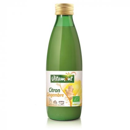 Pur jus de citron et gingembre - 25cL