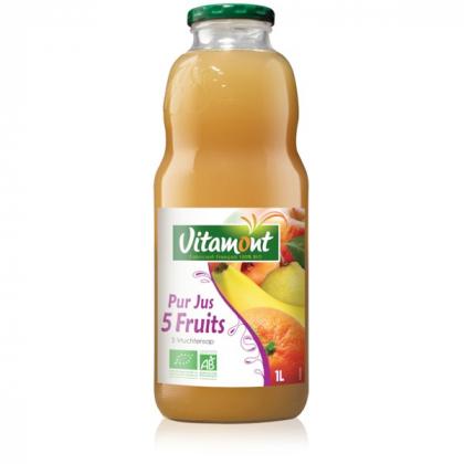 Cocktail 5 fruits - 1L