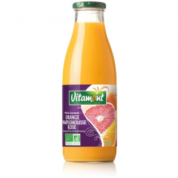 Jus d'orange et pamplemousse rose - 75cL