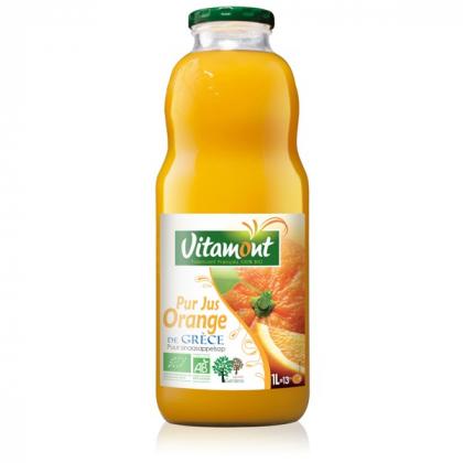 Pur jus d'orange grecques - 1L