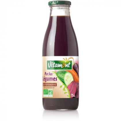 Pur jus de légumes lactofermenté - 75cL