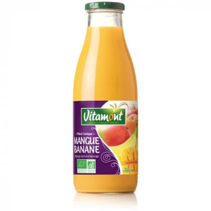 Jus de mangue et banane - 75cL