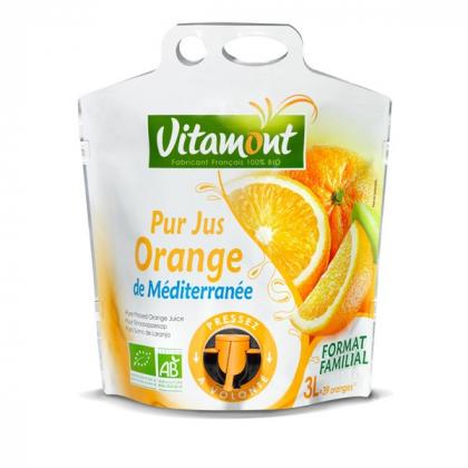 Pur jus d'orange méditerranéennes – 3L