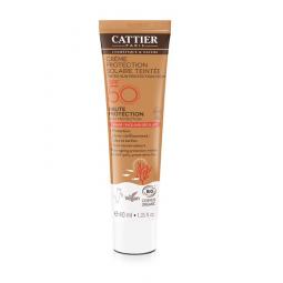 Crème protection solaire teintée SPF50 - 40ml
