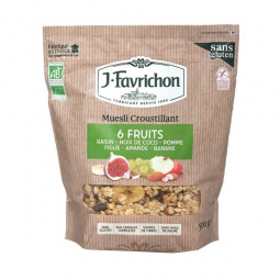 Muesli croustillant 6 fruits - 500g