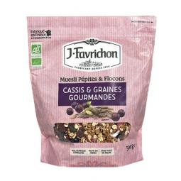 Muesli cassis et graines gourmandes - 500g