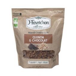 Muesli croustillant quinoa et chocolat - 500g