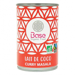 Lait de coco Curry massala - 400ml