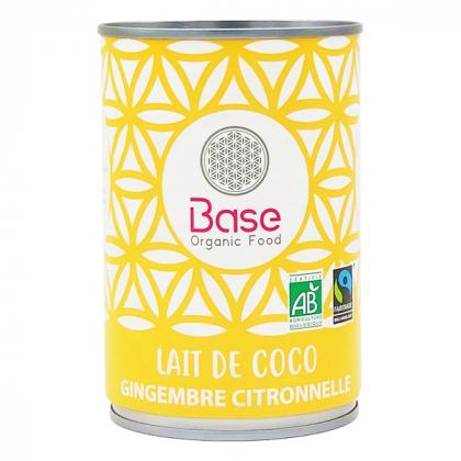 Lait de coco Gingembre citronnelle - 400ml