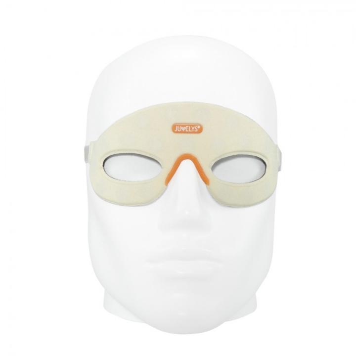 Masque Ophtalmo Frontal Magnétiques AURIS vue de face sur tête