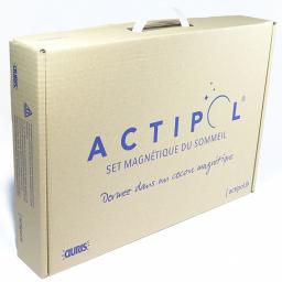 Set Magnétique Du Sommeil Actipol® AURIS vue des deux plaques