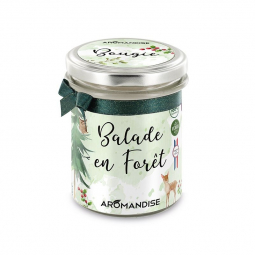Bougie d'ambiance Balade en forêt - 150g