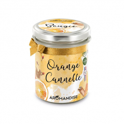 Bougie d'ambiance Orange cannelle - 150g