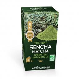 Thé vert Sencha et macha - 18 infusettes