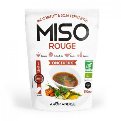 Miso rouge onctueux - 250g