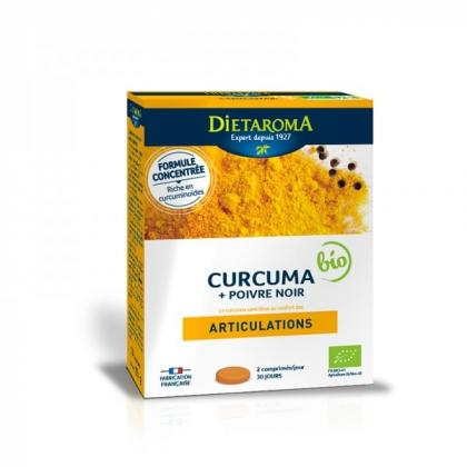 Curcuma 6000 + Poivre Noir Bio DIETAROMA