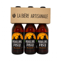 Bière blonde tripack - 3x33cl