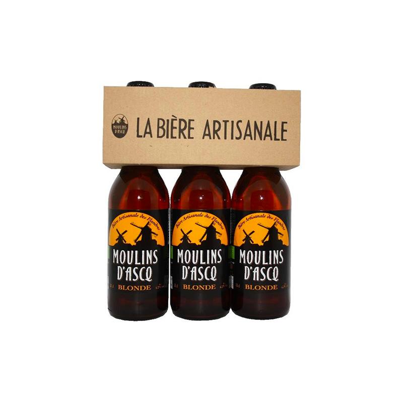 Bière blonde tripack - 3 x 33cl