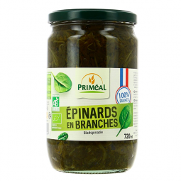 Epinards en branches - 720g