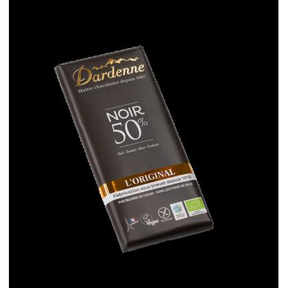Chocolat noir 50% - 100g