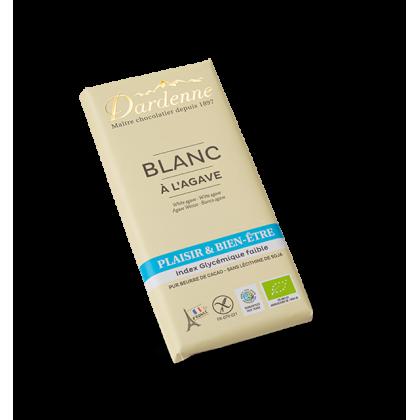 Chocolat blanc agave - 100g