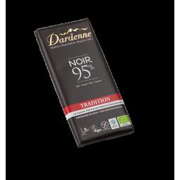 Chocolat noir tradition 95% - 90g